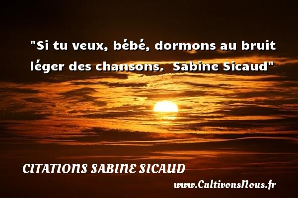 citations sabine sicaud