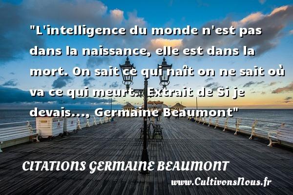citations germaine beaumont