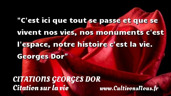 citations georges dor