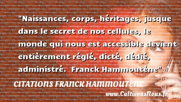 citations franck hammoutène