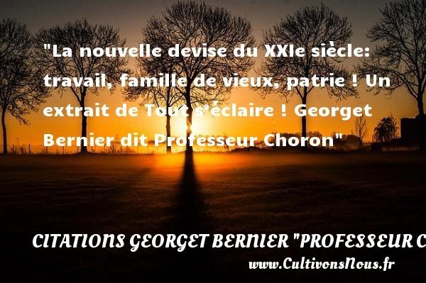citations georget bernier
