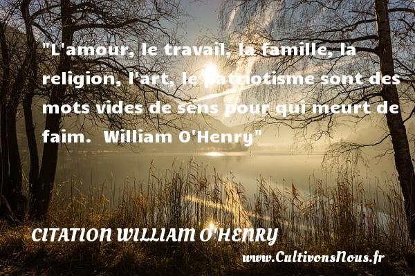 citation william o'henry