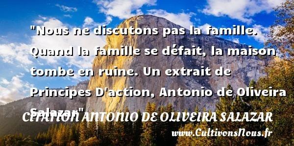 citation antonio de oliveira salazar