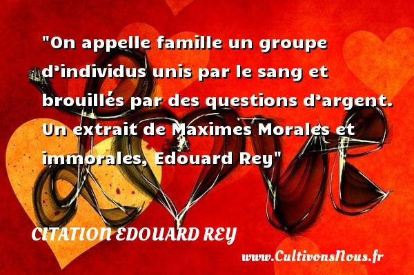 citation edouard rey
