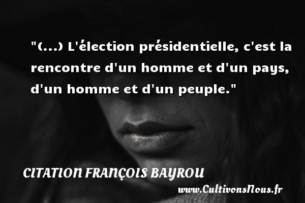 citation françois bayrou