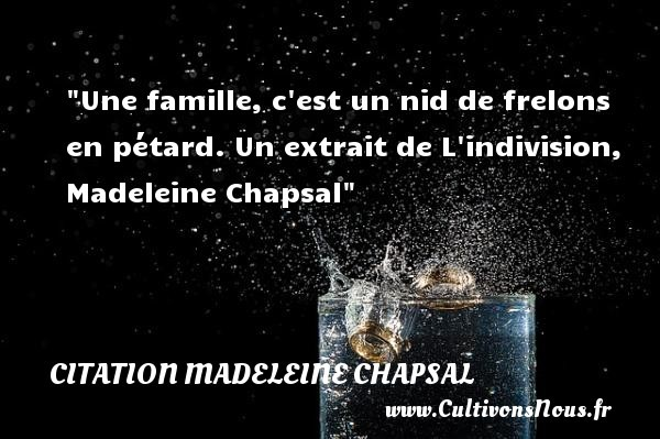 citation madeleine chapsal