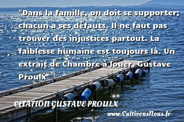 citation gustave proulx