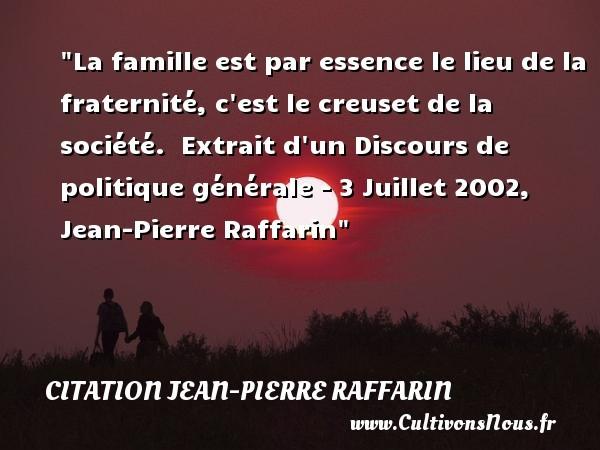 citation jean-pierre raffarin