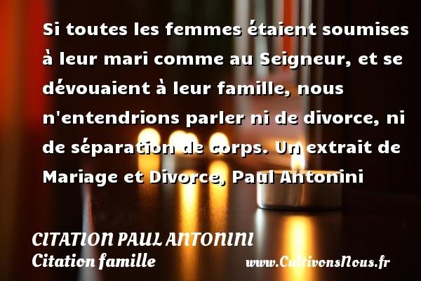 citation paul antonini