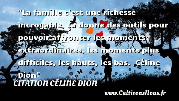 citation céline dion