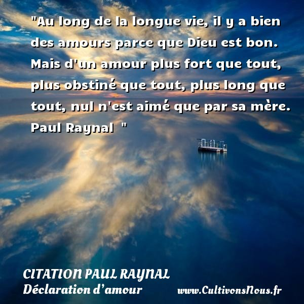 citation paul raynal