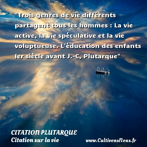 citation plutarque