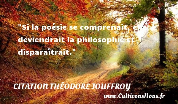 citation théodore jouffroy