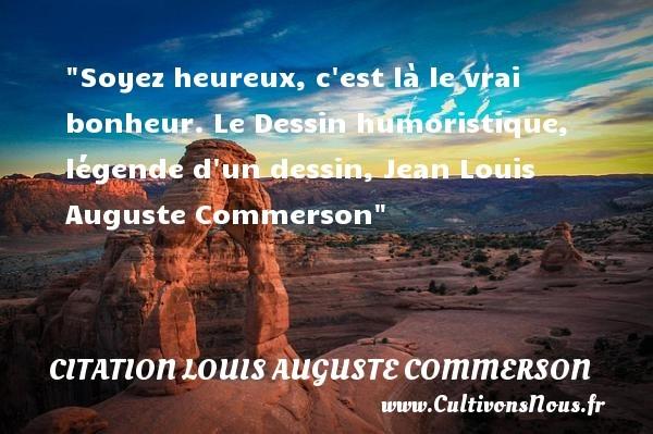citation louis auguste commerson