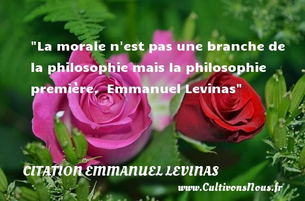 citation emmanuel levinas