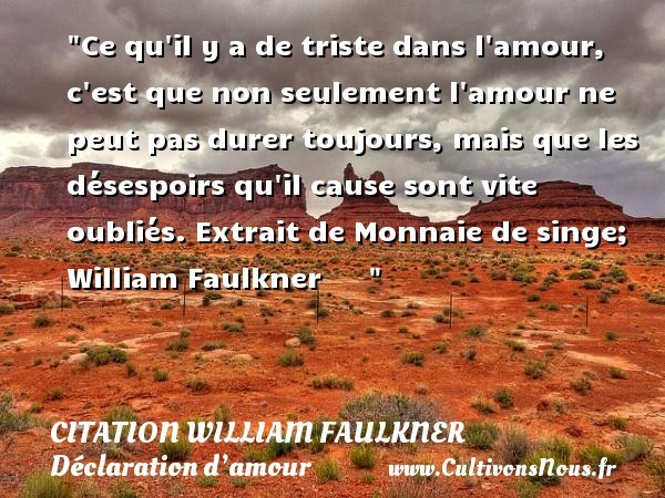 citation william faulkner