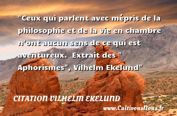 citation vilhelm ekelund
