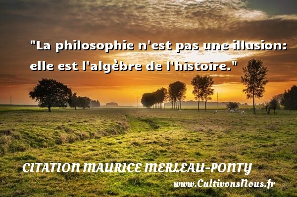 citation maurice merleau-ponty