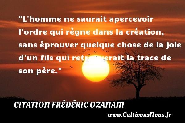 citation frédéric ozanam