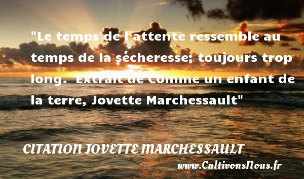 citation jovette marchessault