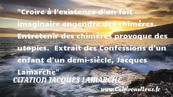 citation jacques lamarche