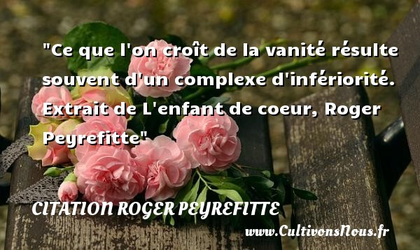 citation roger peyrefitte