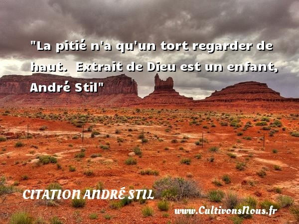 citation andré stil