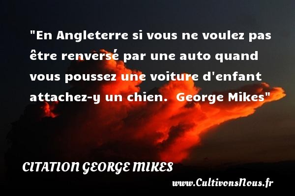 citation george mikes