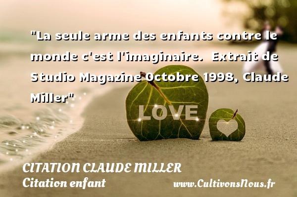 citation claude miller