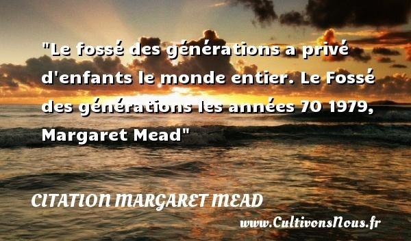 citation margaret mead