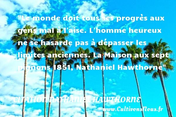 citation nathaniel hawthorne