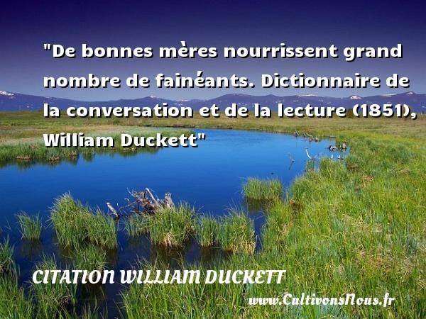 citation william duckett