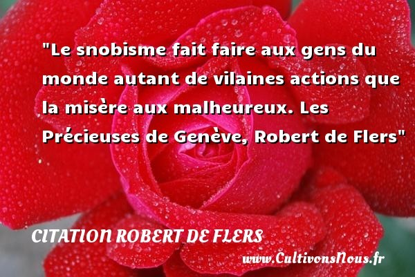 citation robert de flers