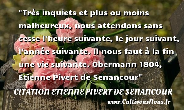 citation etienne pivert de senancour