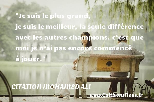 citation mohamed ali