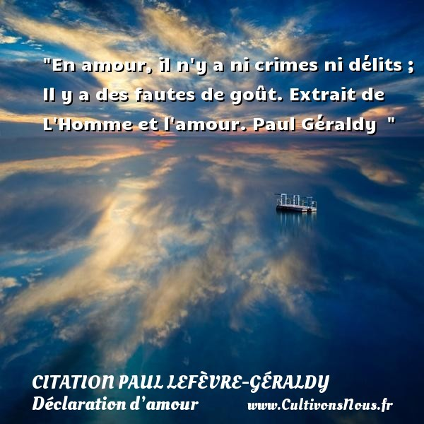 citation paul lefèvre-géraldy