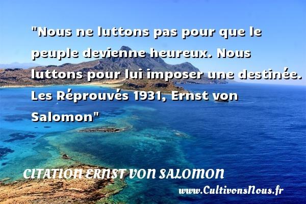 citation ernst von salomon
