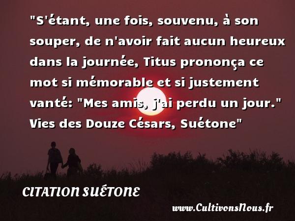 citation suétone