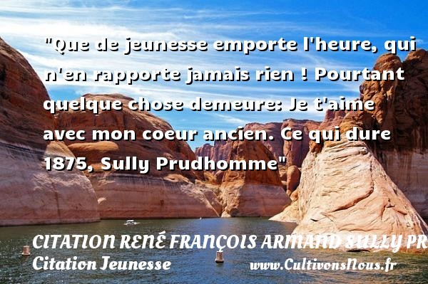 citation rené françois armand sully prudhomme