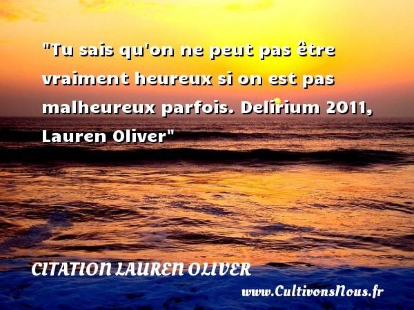citation lauren oliver