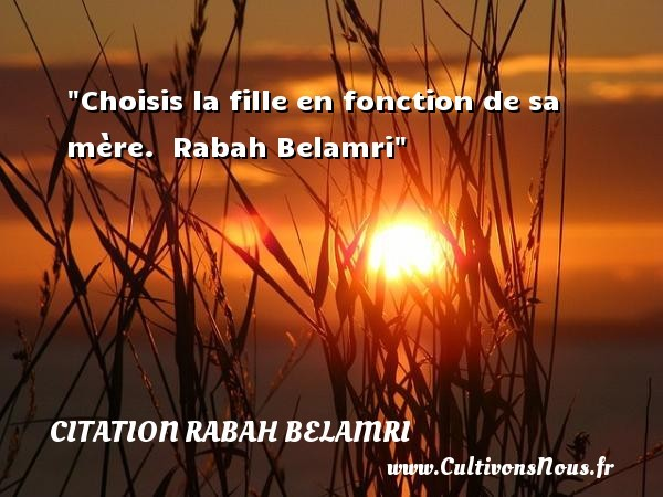 citation rabah belamri