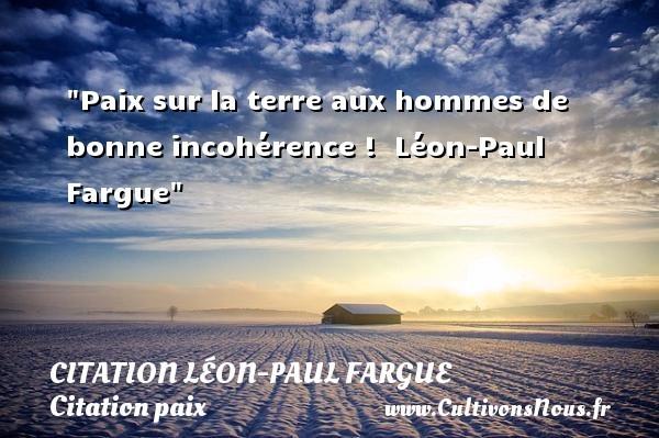 citation léon-paul fargue