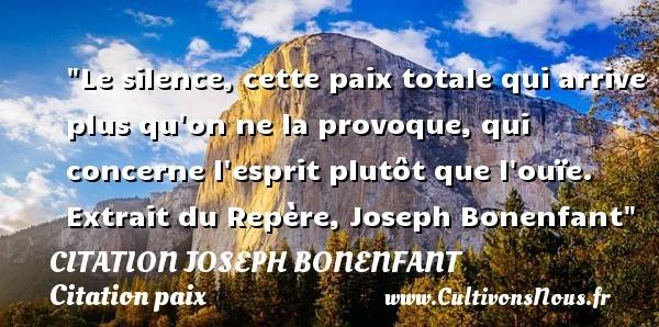 citation joseph bonenfant