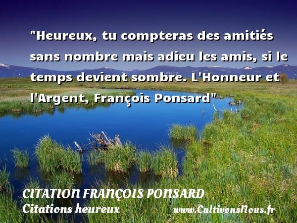 citation françois ponsard