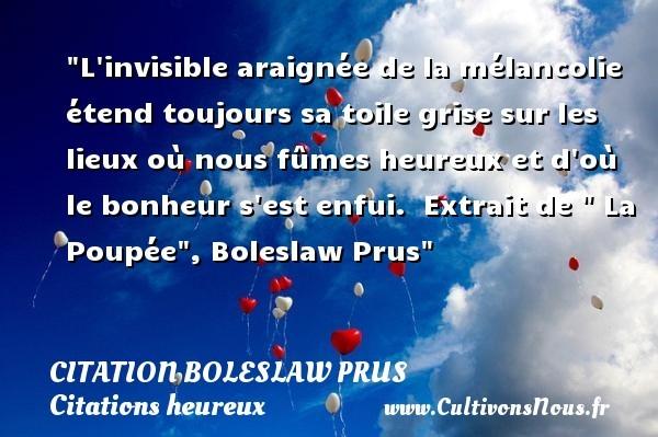 citation boleslaw prus
