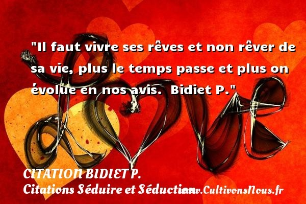 citation bidiet p.
