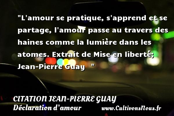citation jean-pierre guay