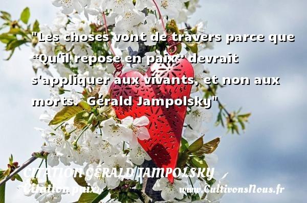 citation gérald jampolsky