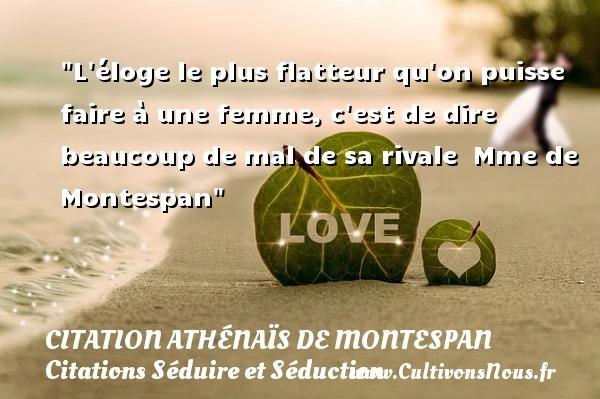 citation athénaïs de montespan