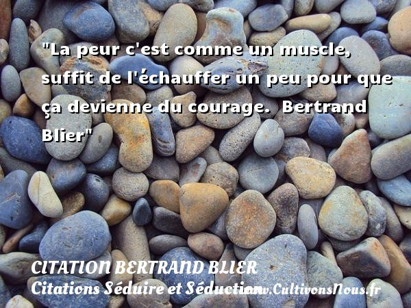 citation bertrand blier
